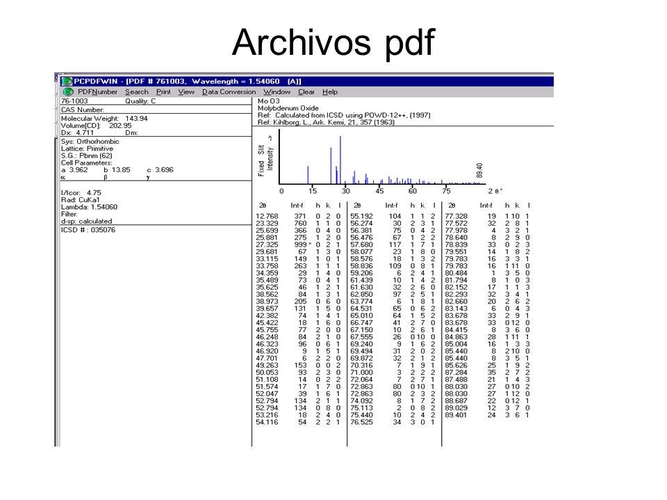 Archivos pdf