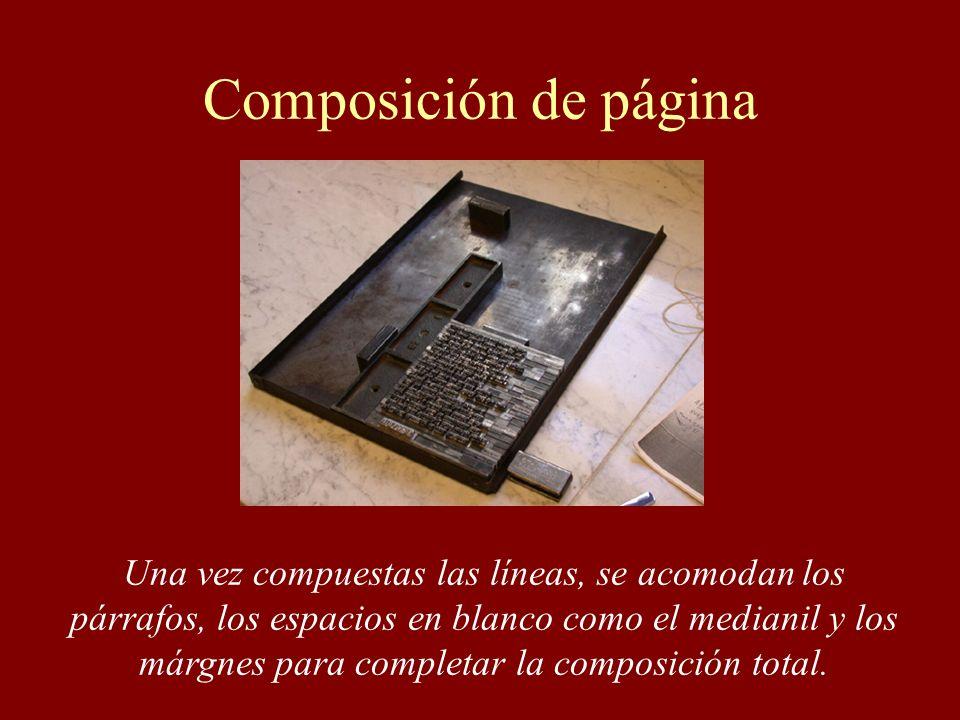 Composición de página