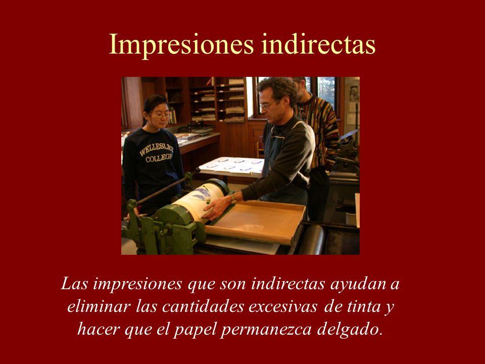 Impresiones indirectas