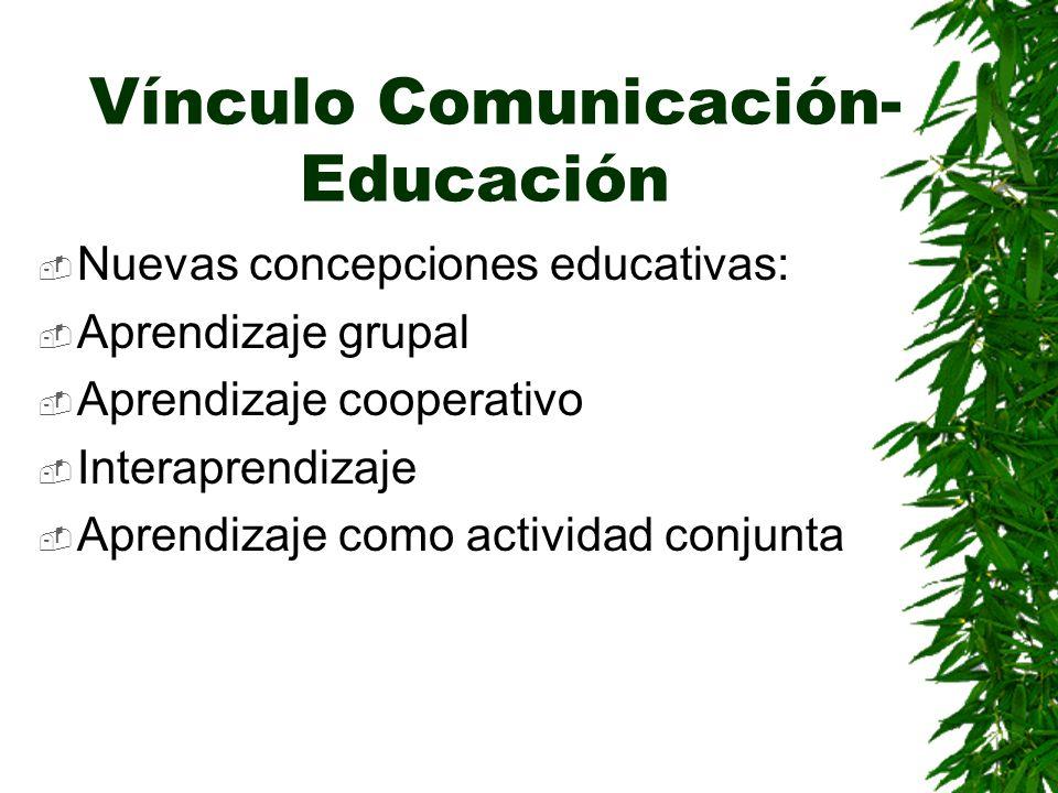 Vínculo Comunicación-Educación