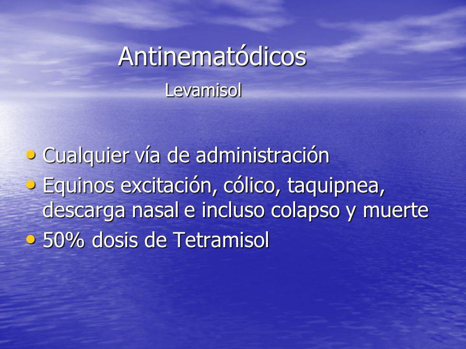 Antinematódicos Levamisol