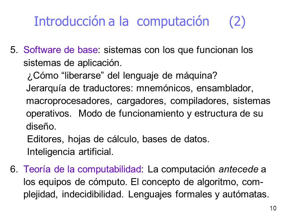 Introducción a la computación (2)
