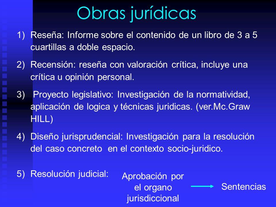 Aprobación por el organo jurisdiccional