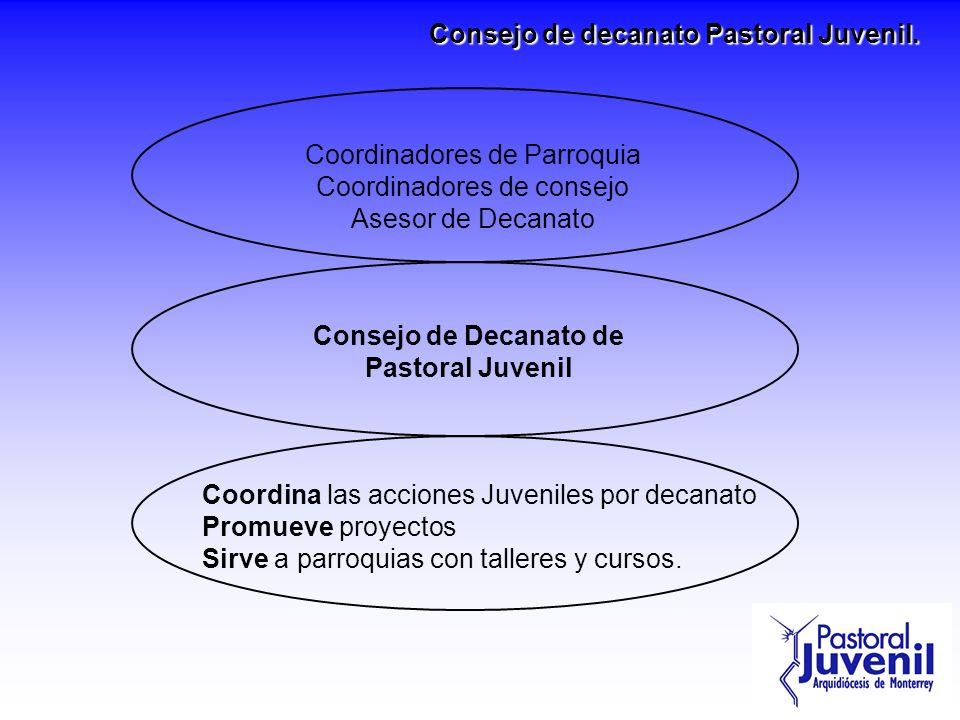 Consejo de decanato Pastoral Juvenil.
