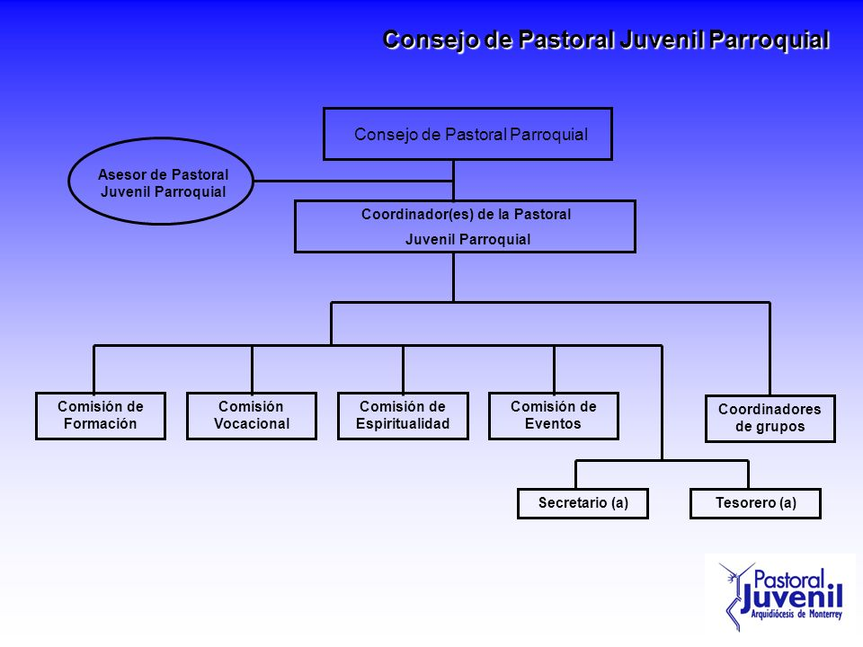 Consejo de Pastoral Juvenil Parroquial