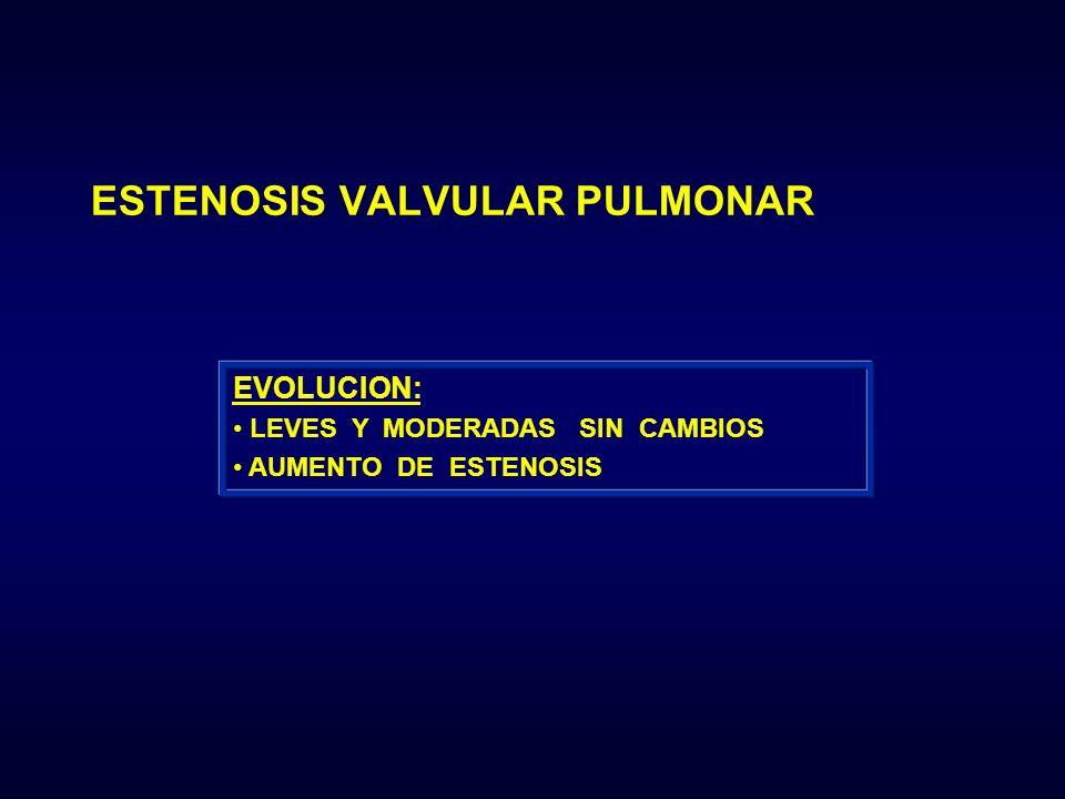 ESTENOSIS VALVULAR PULMONAR