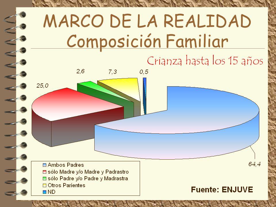 MARCO DE LA REALIDAD Composición Familiar