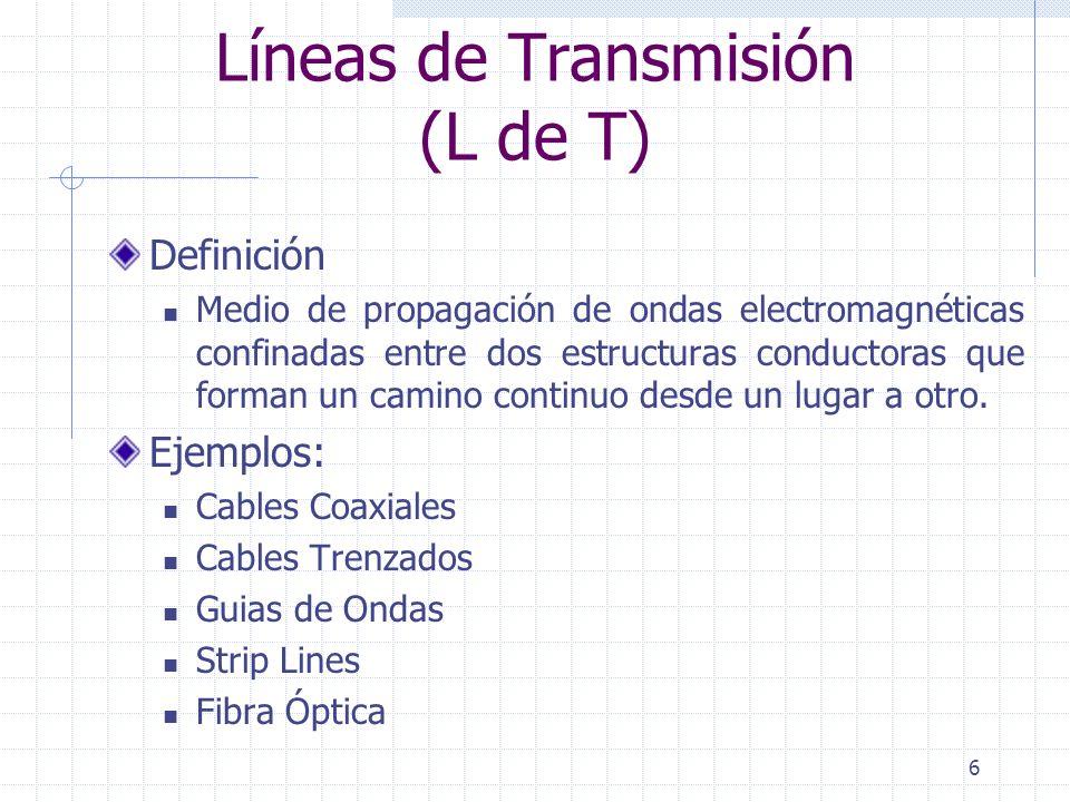 Líneas de Transmisión (L de T)