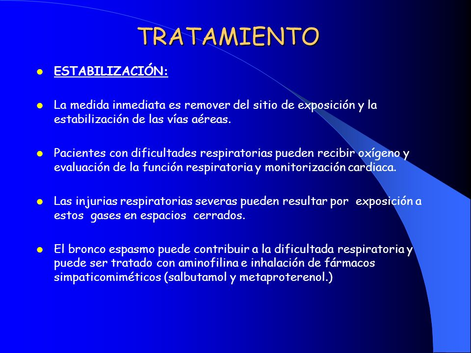 TRATAMIENTO ESTABILIZACIÓN: