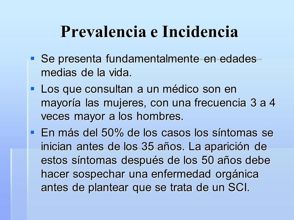 Prevalencia e Incidencia