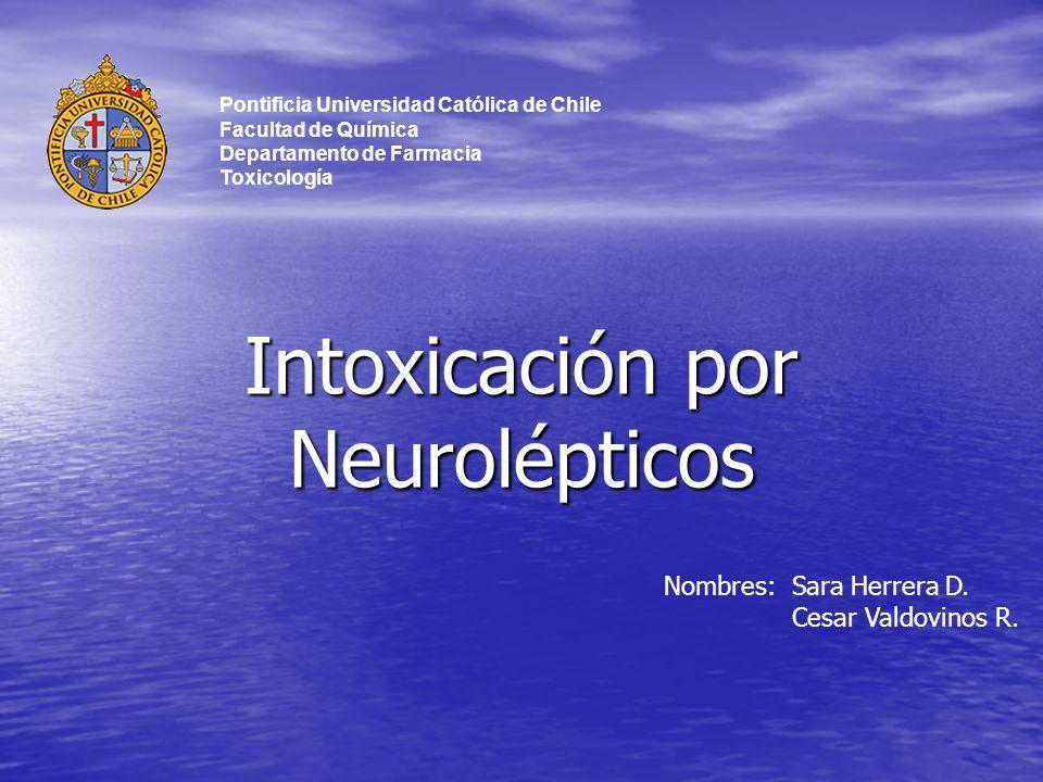 Intoxicación por Neurolépticos
