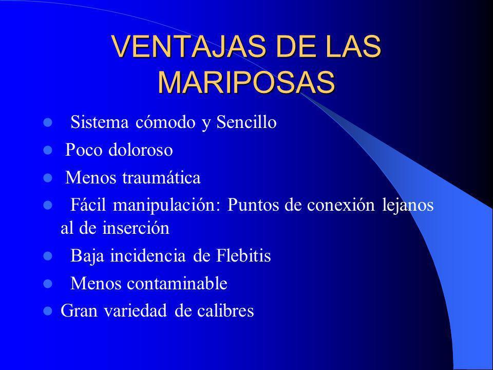 VENTAJAS DE LAS MARIPOSAS