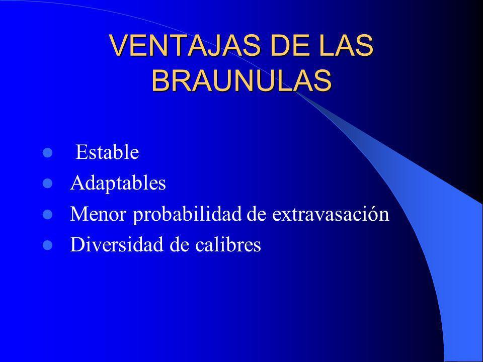 VENTAJAS DE LAS BRAUNULAS