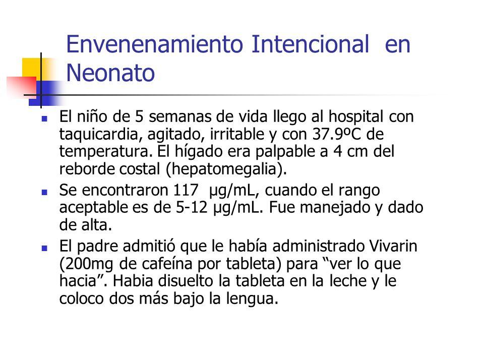 Envenenamiento Intencional en Neonato