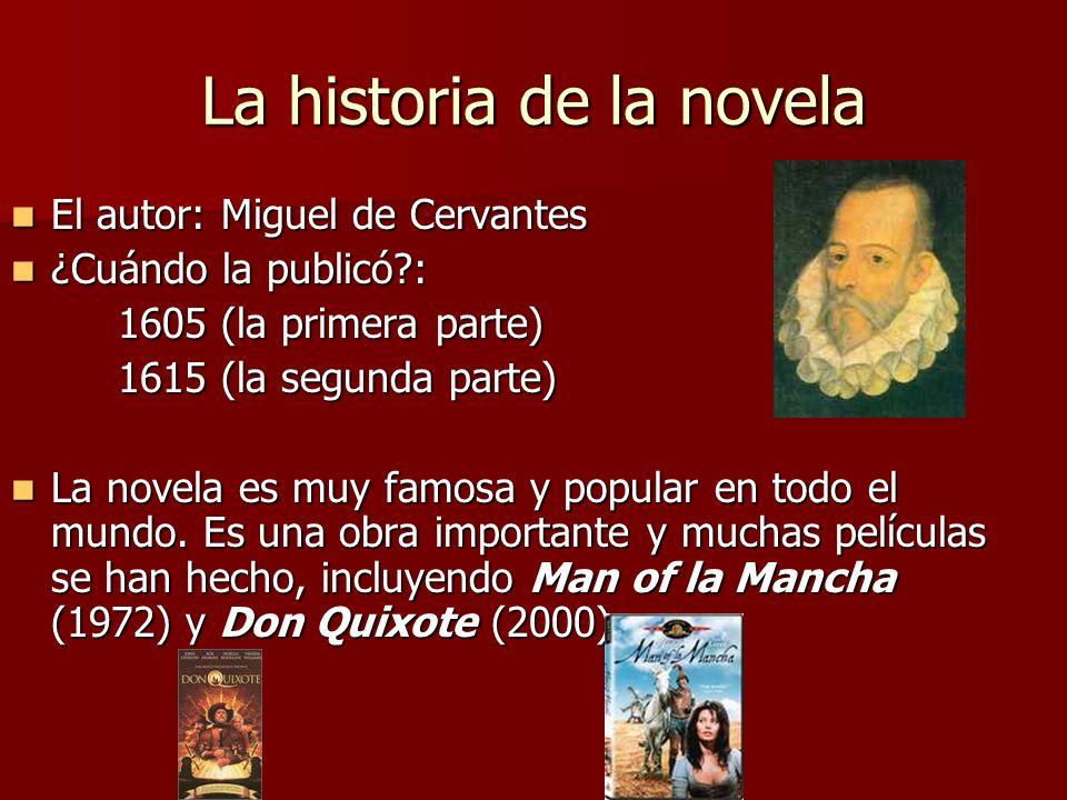 La historia de la novela
