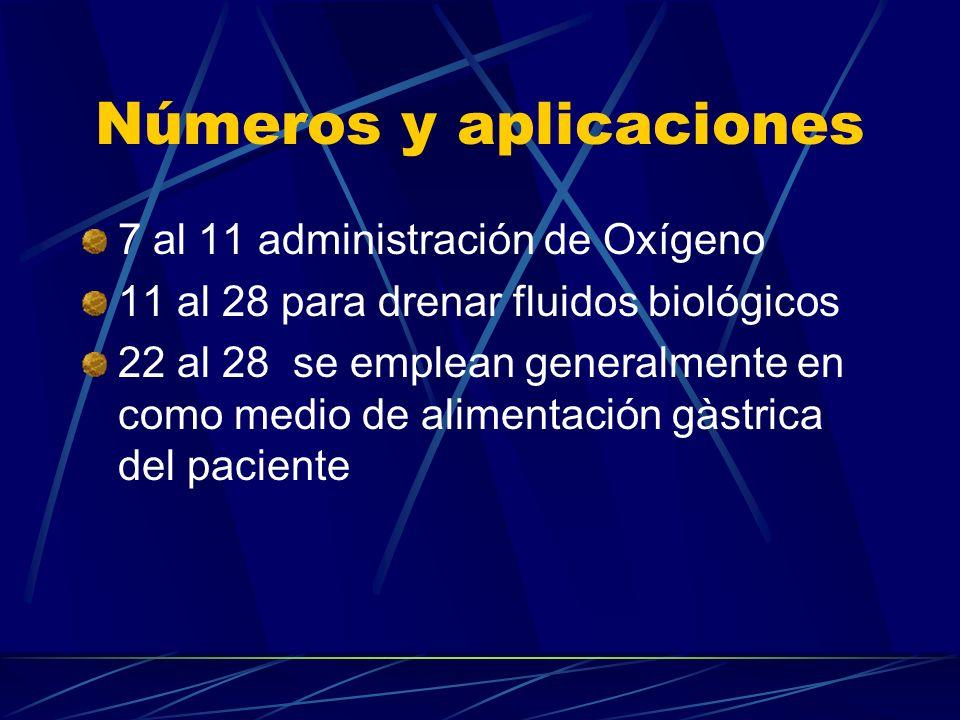 Números y aplicaciones