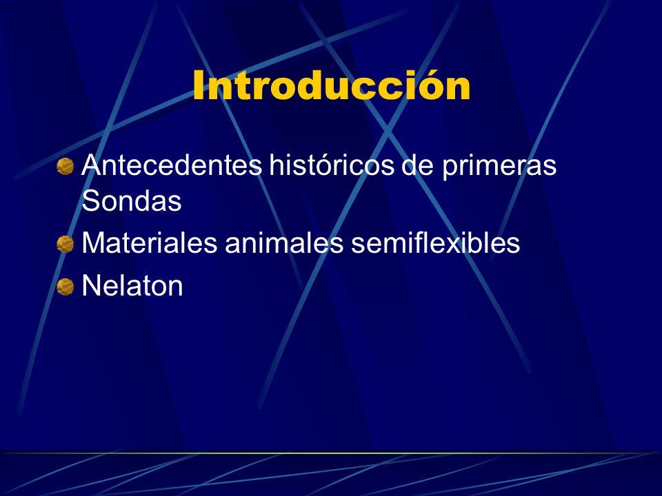 Introducción Antecedentes históricos de primeras Sondas