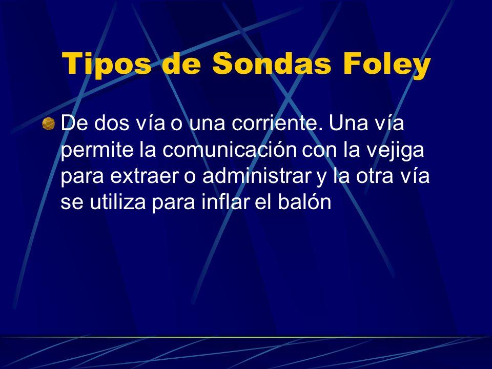Tipos de Sondas Foley