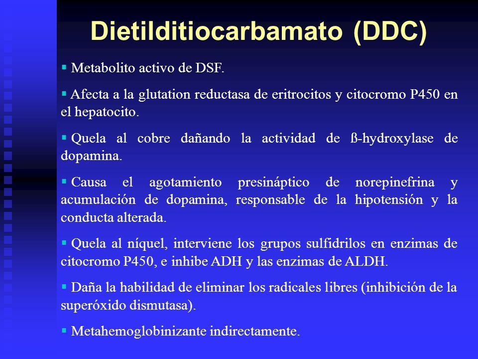 Dietilditiocarbamato (DDC)
