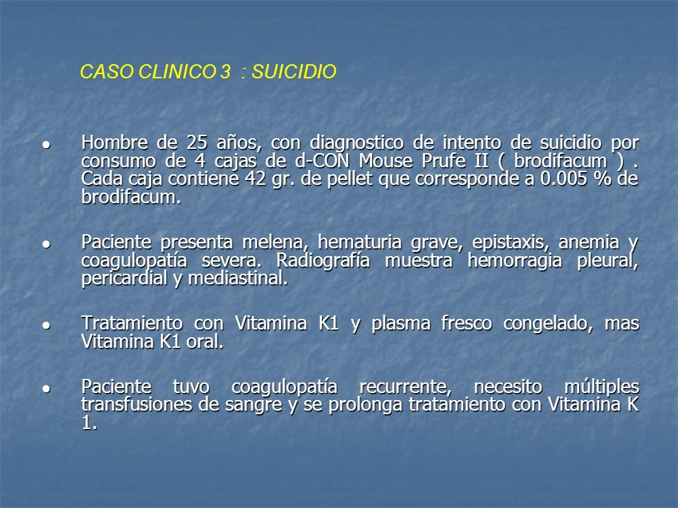 CASO CLINICO 3 : SUICIDIO