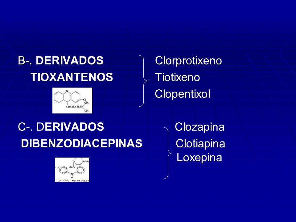 B-. DERIVADOS Clorprotixeno