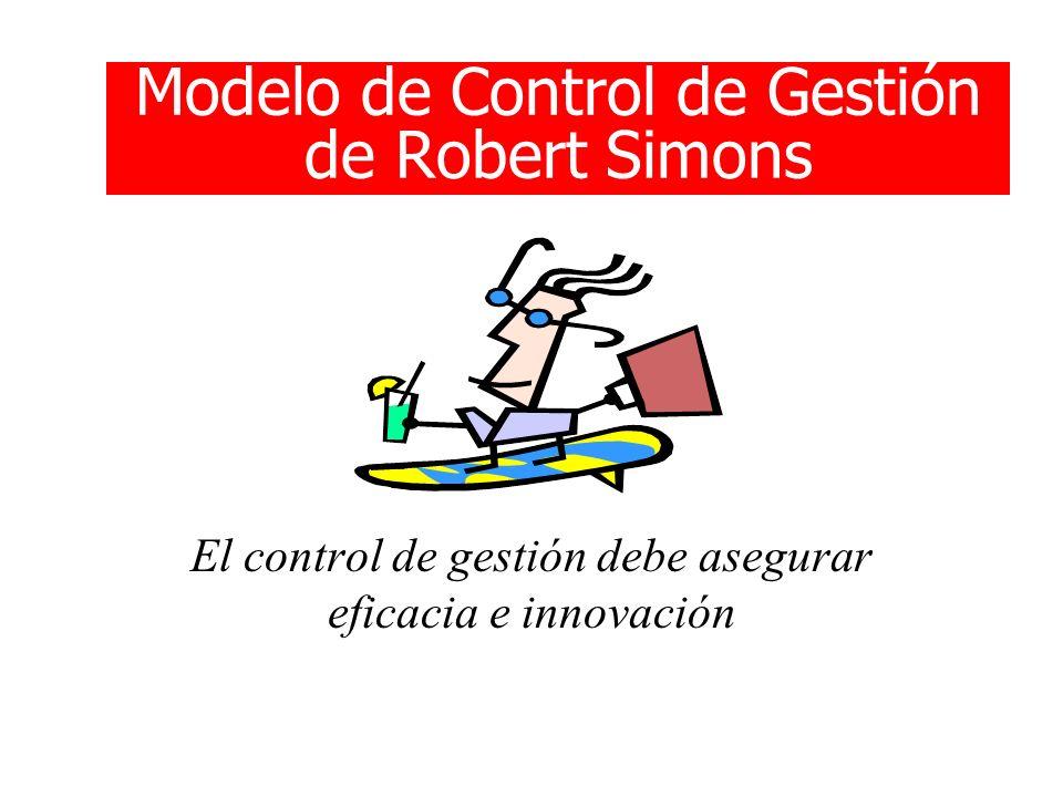 Modelo de Control de Gestión de Robert Simons