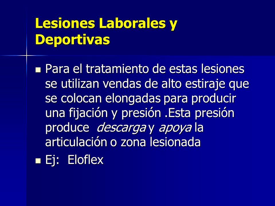 Lesiones Laborales y Deportivas