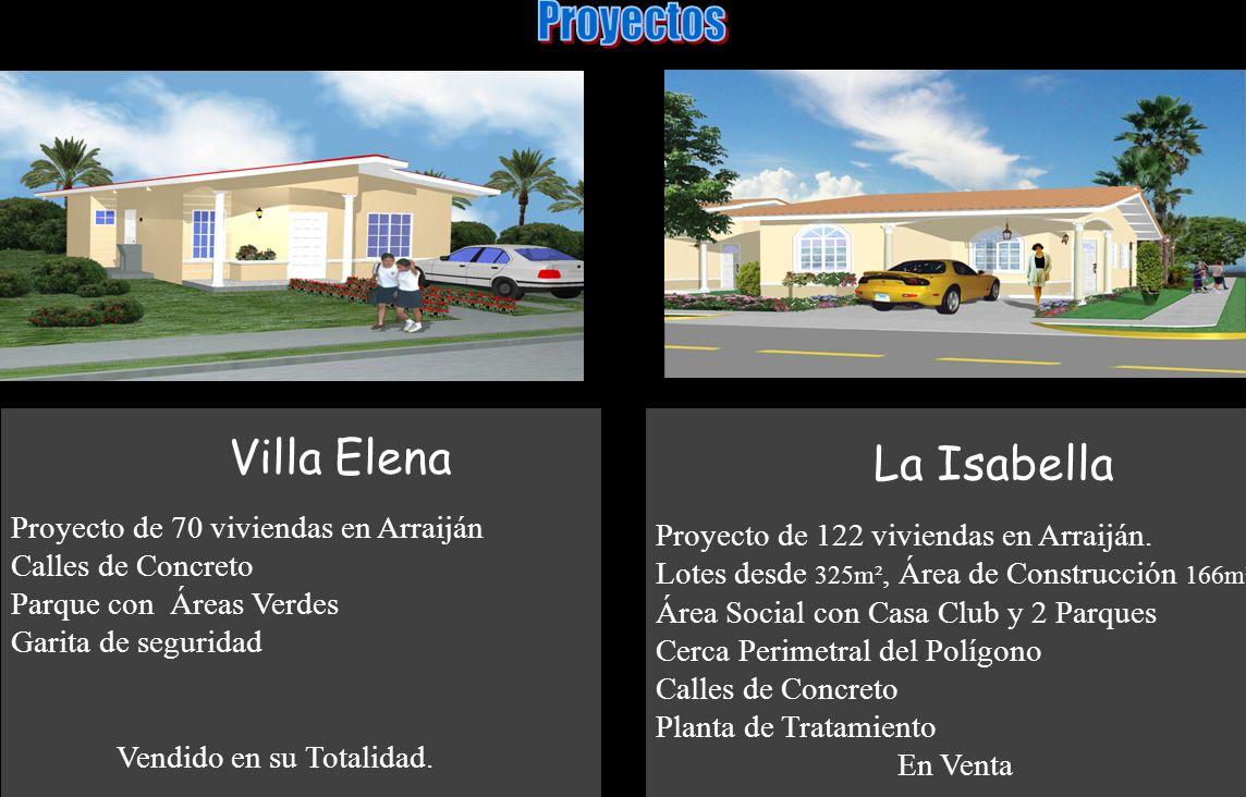 Proyectos Villa Elena La Isabella Proyecto de 70 viviendas en Arraiján