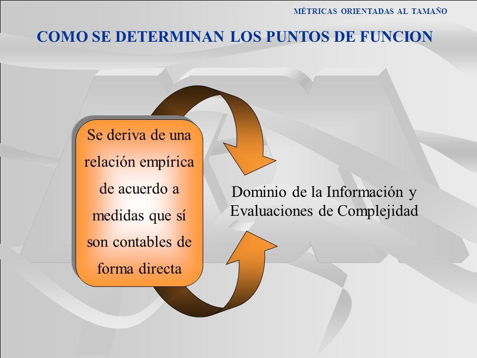 Dominio de la Información y Evaluaciones de Complejidad