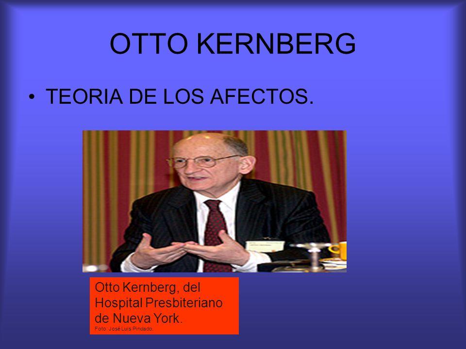 OTTO KERNBERG TEORIA DE LOS AFECTOS.