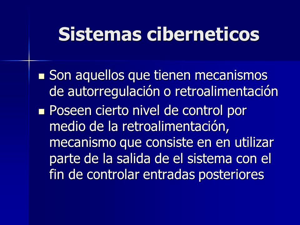 Sistemas ciberneticos