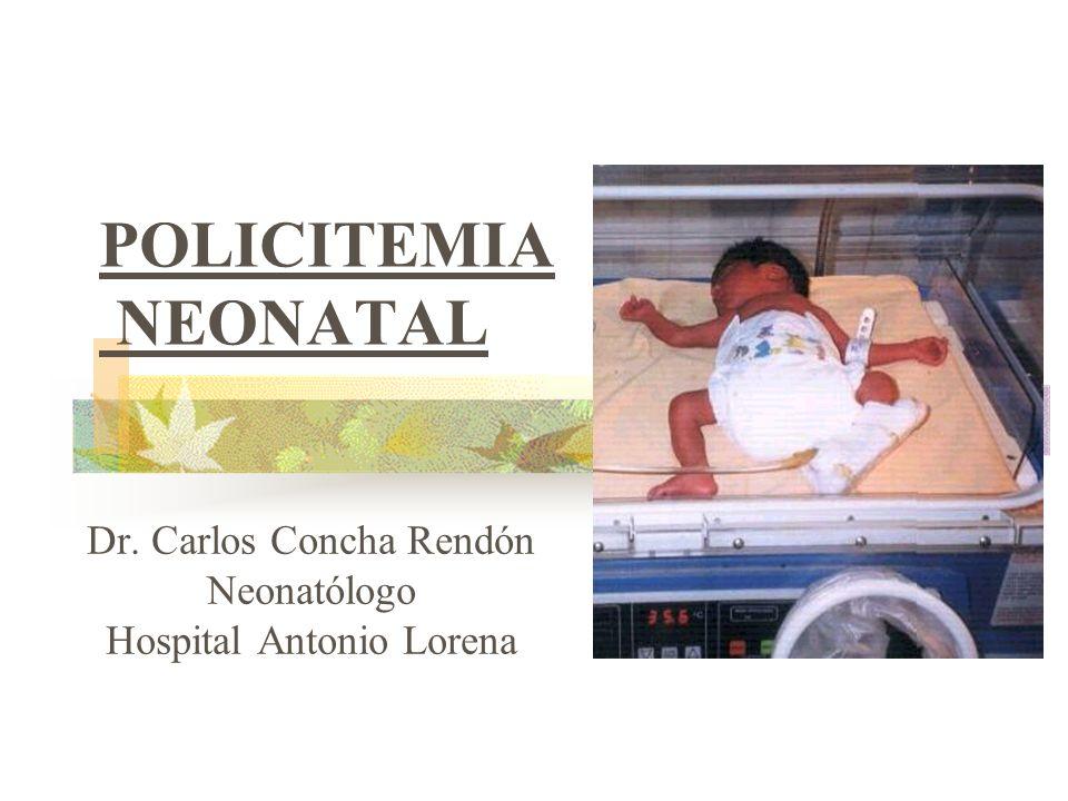 Dr. Carlos Concha Rendón Neonatólogo Hospital Antonio Lorena