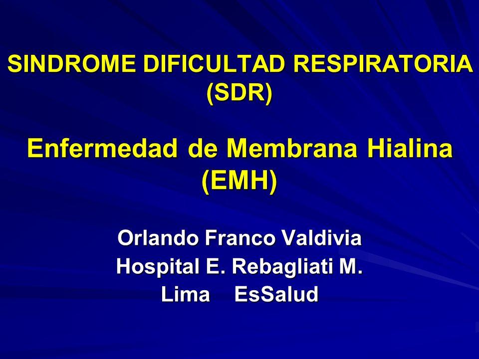 Orlando Franco Valdivia Hospital E. Rebagliati M. Lima EsSalud
