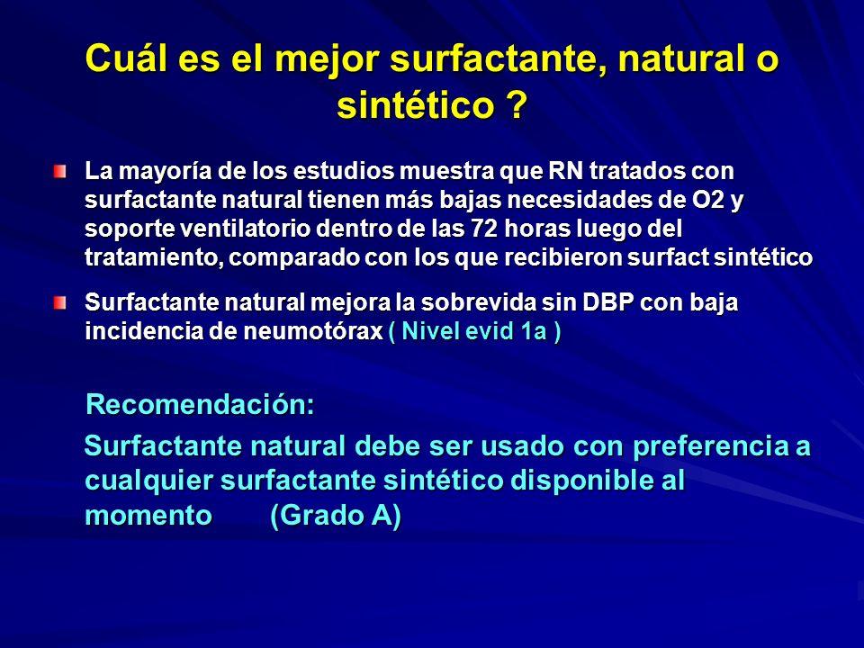 Cuál es el mejor surfactante, natural o sintético