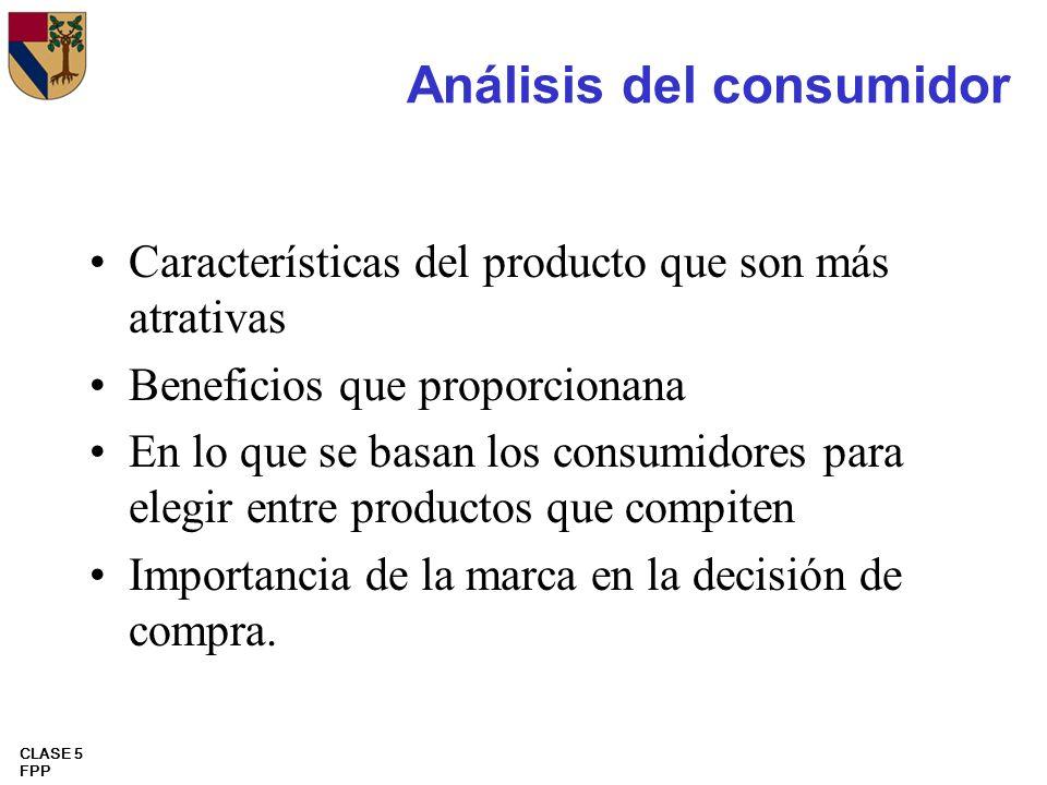 Análisis del consumidor