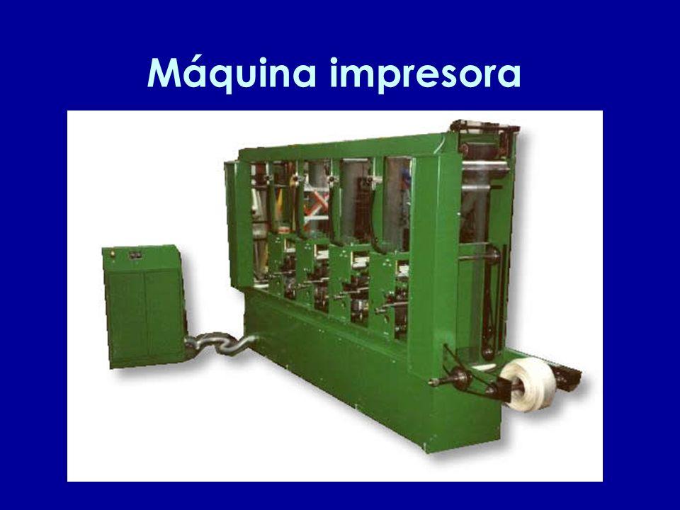 Máquina impresora