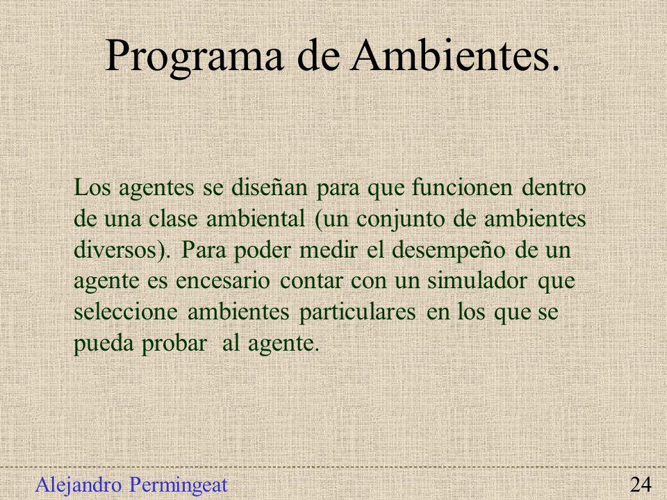 Programa de Ambientes.