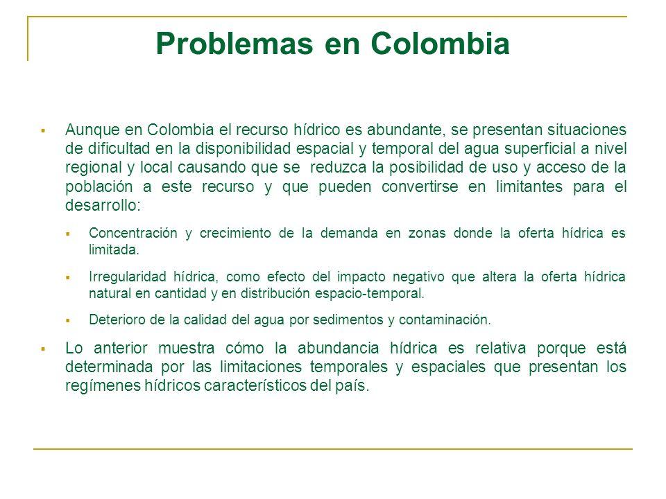 Problemas en Colombia