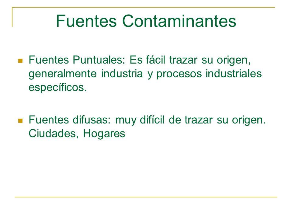 Fuentes Contaminantes