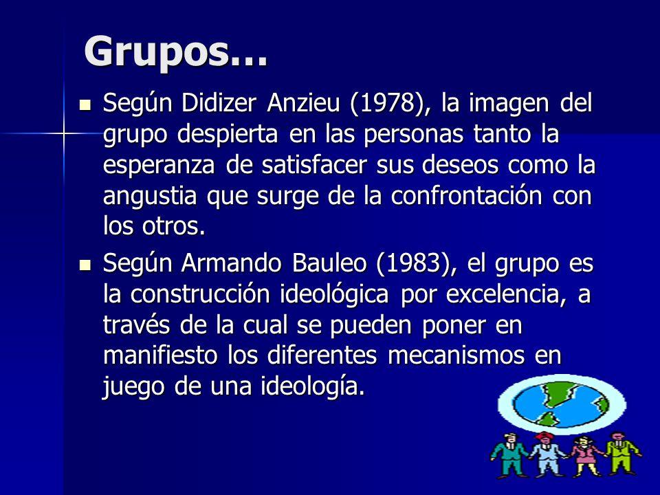 Grupos…