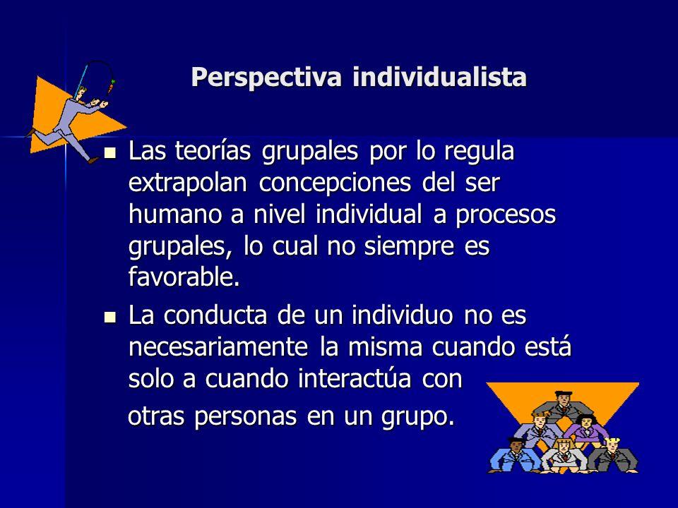 Perspectiva individualista