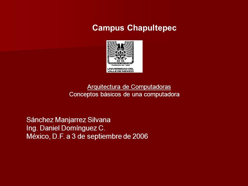 Sánchez Manjarrez Silvana Ing. Daniel Domínguez C.
