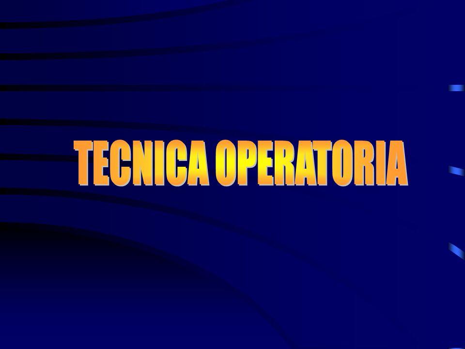 TECNICA OPERATORIA