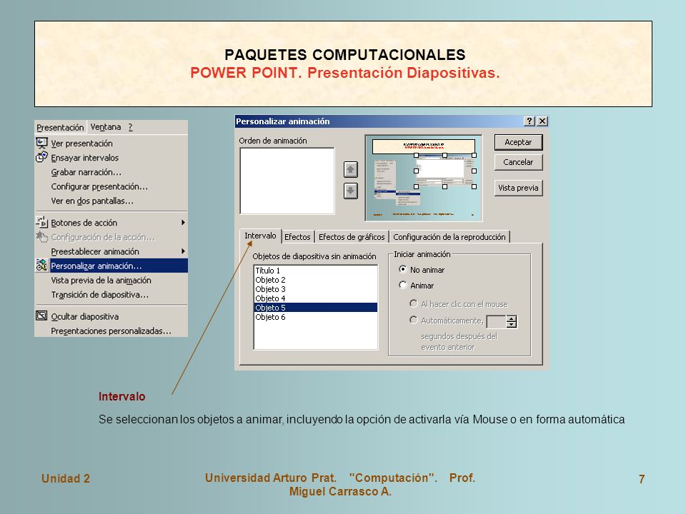 PAQUETES COMPUTACIONALES POWER POINT. Presentación Diapositivas.