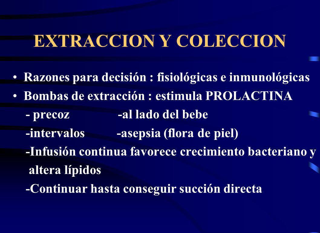EXTRACCION Y COLECCION