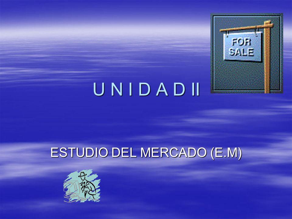 ESTUDIO DEL MERCADO (E.M)