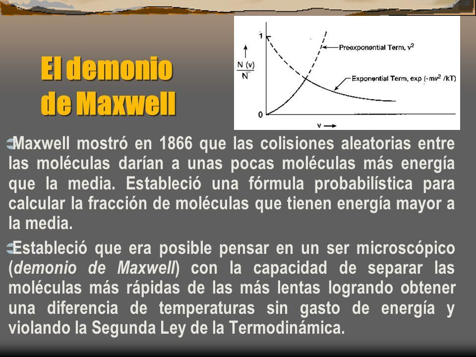 El demonio de Maxwell