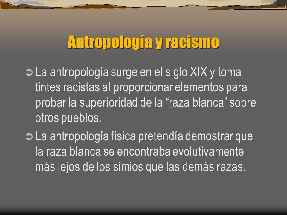 Antropología y racismo