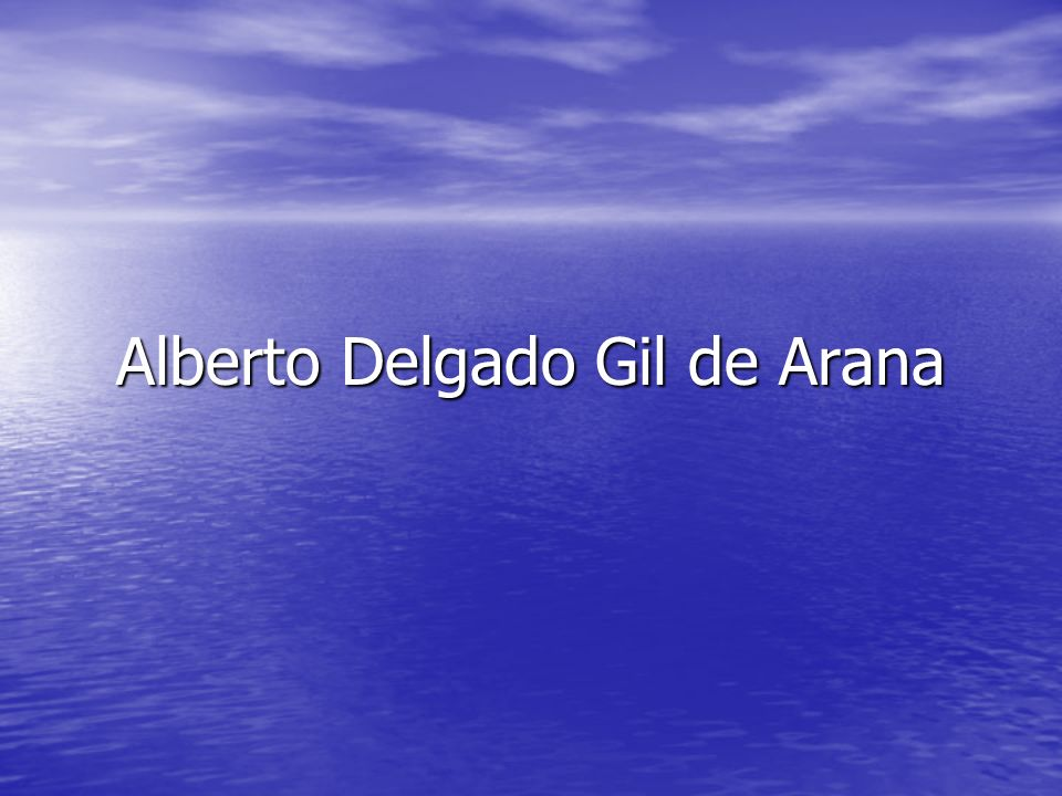 Alberto Delgado Gil de Arana