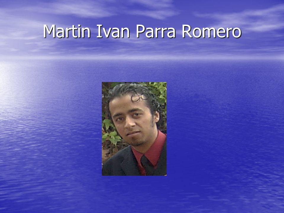 Martin Ivan Parra Romero